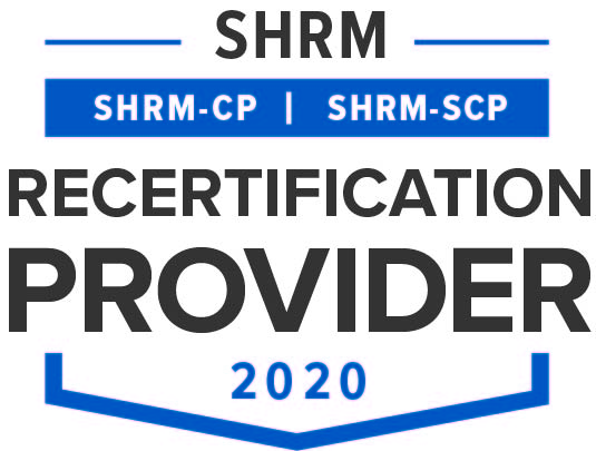 SHRM Recertification provider badge